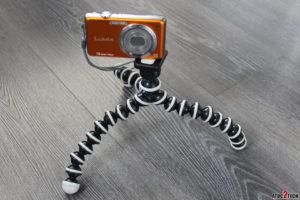 trepied pour appareil photo compact