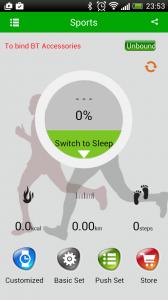 montre u8 analyse du sommeil