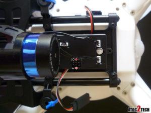 tarot t2d branchement inclinaison camera