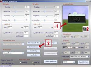 T2D calibration du capteur