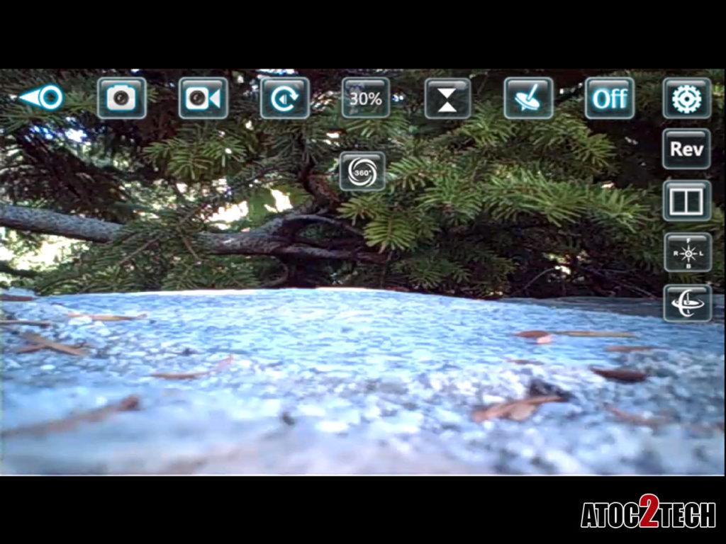 Drone logiciel smartphone