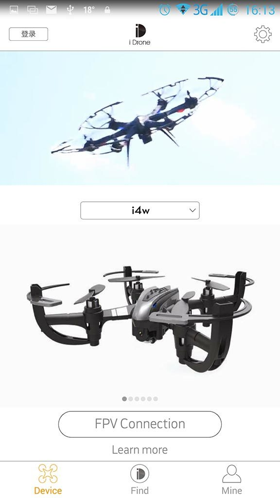 i Drone android application
