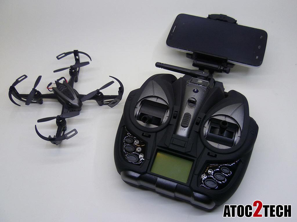 i Drone x4 test drone wifi