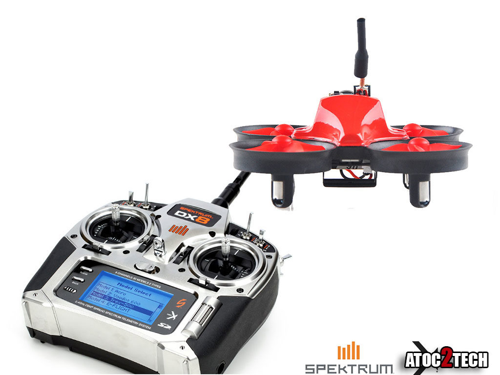 micro drone racer spektrum
