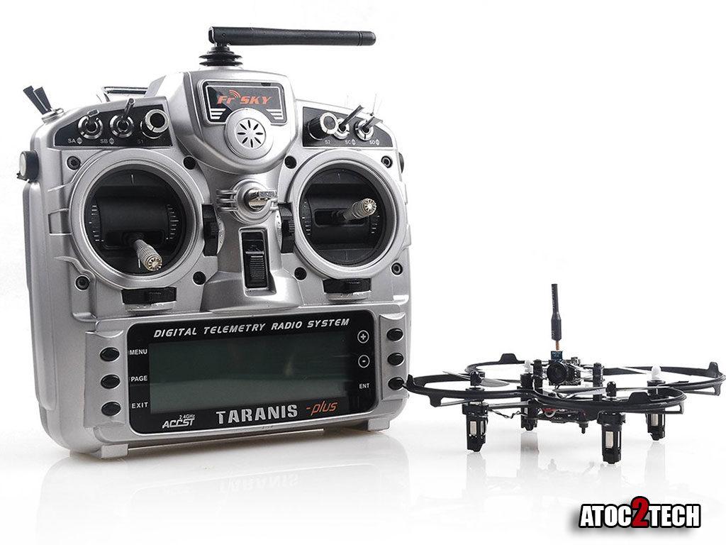 drone racer fpv taranis