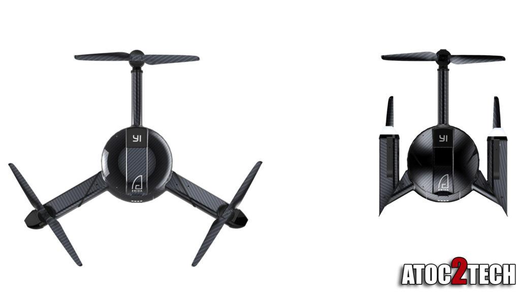 xiaomi yi-erida drone pliable