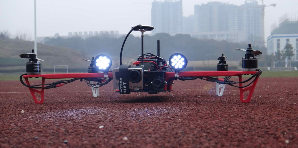 Drone Seeker : Plus de 100km/h