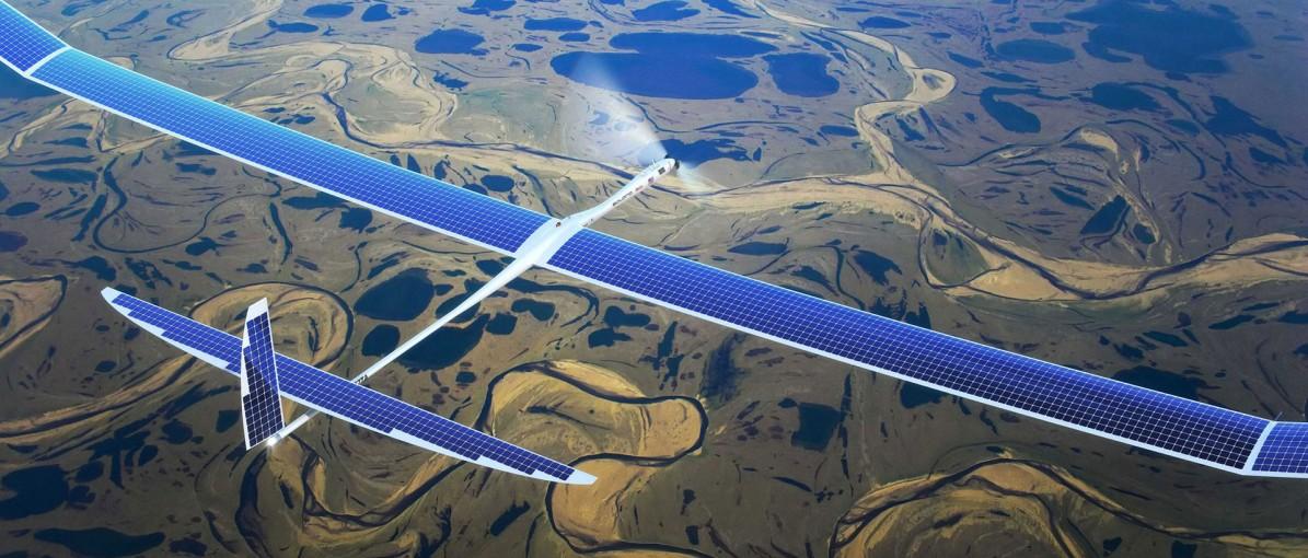 Des drones Titan Aerospace pour Google