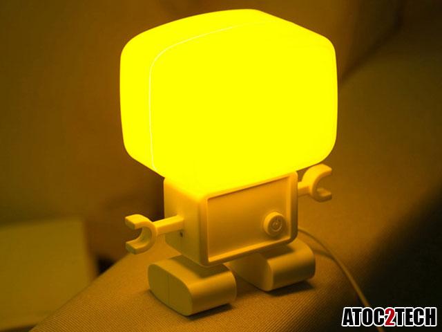 Lampe d'ambiance intelligente