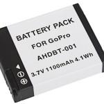batterie gopro ahdbt001