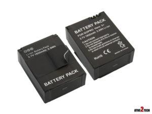Batterie de remplacement pour Gopro hero 3 +
