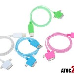 cable couleur apple