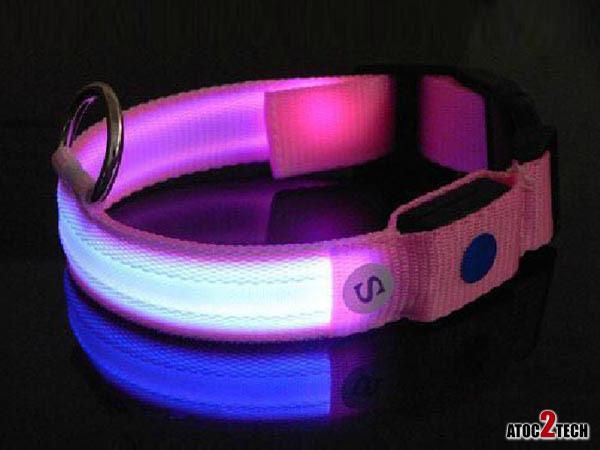 collier led rose