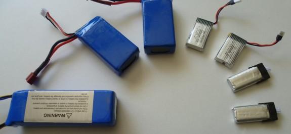 batterie et accus Li-Po