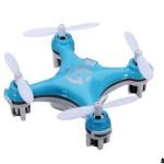 drone miniature bleu
