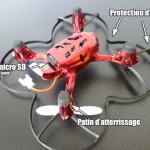 mini drone hubsan x4 107C hd