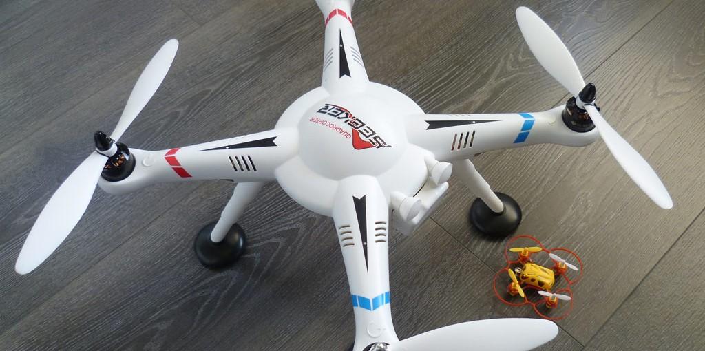 Drone V303 Wltoys : Le test