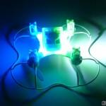 nano drone lumineux à LED