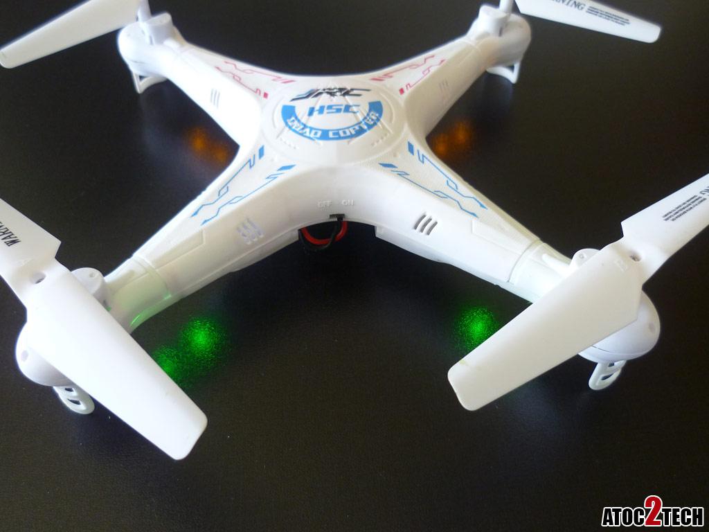 JJRC H5C v2 drone avec camera