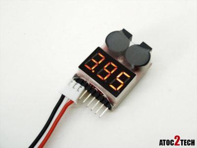Testeur de batterie lipo 1s et 8s