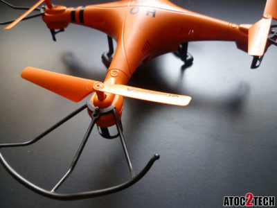 drone h2o protection d'helices