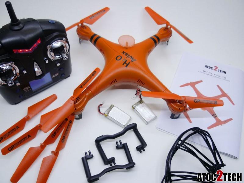 drone waterproof pret à voler