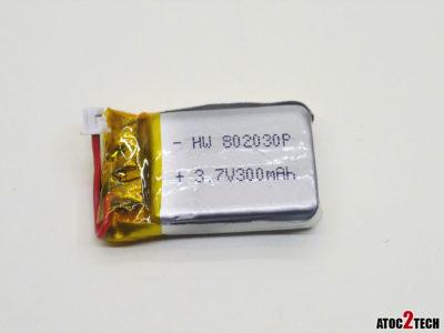 Lipo 3,7v 300 mah connecteur sjx xh mini