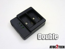 Chargeur gopro 3 double