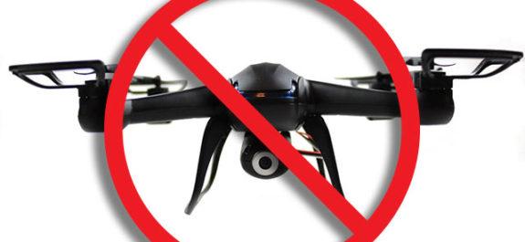 drone zone de vol