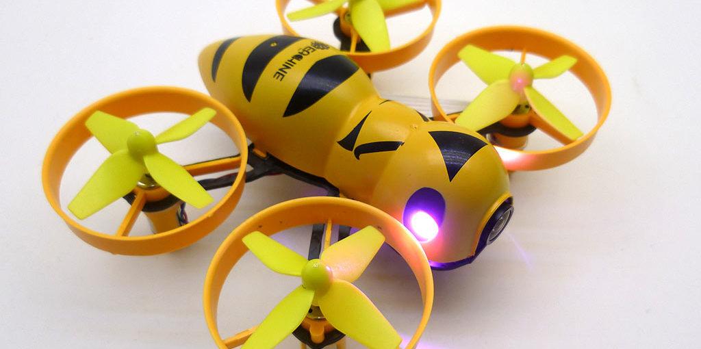 Drone FPV Eachine Fatbee : TEST