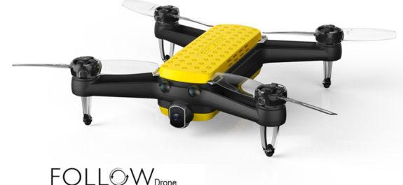 follow drone selfie geniusidea