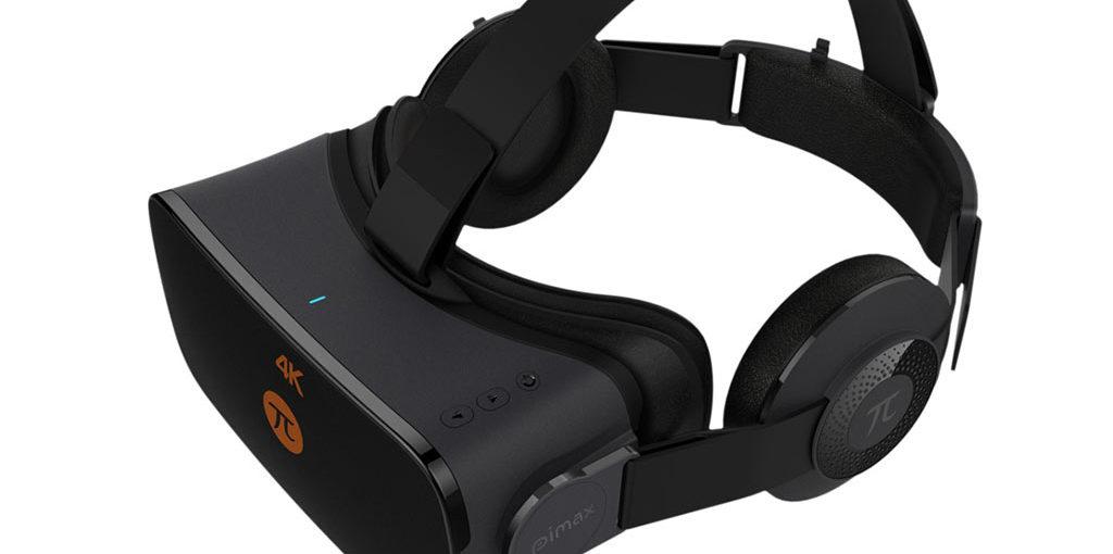 CES 2017 : Casque de réalité virtuelle PIMAX 4K