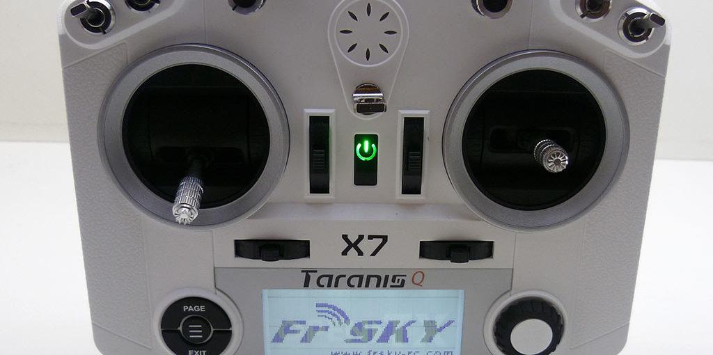 Taranis Q X7 : Prise en main (1/3)
