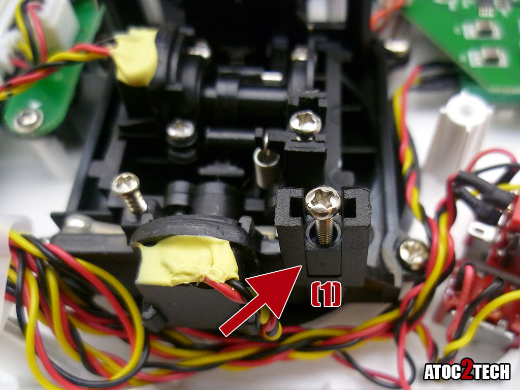 taranis Q X7 reglage de la commande des gaz