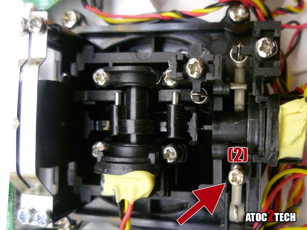 taranis X7 reglage de la commande des gaz