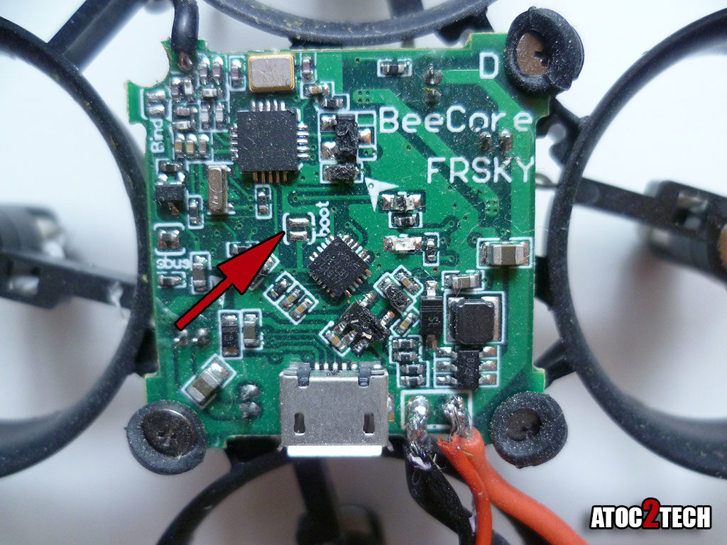 Beecore F3 EVO bootloader