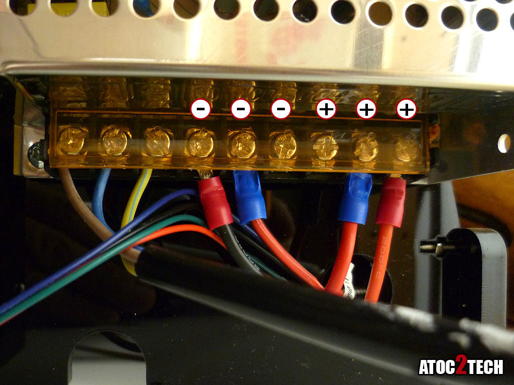Anet A8 connection alimentation mosfet