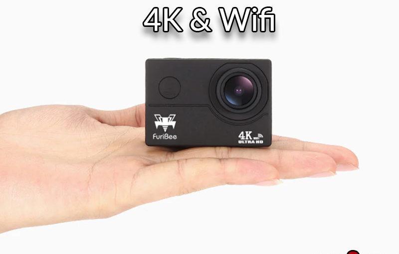 Caméra 4K Furibee en promo :  22€