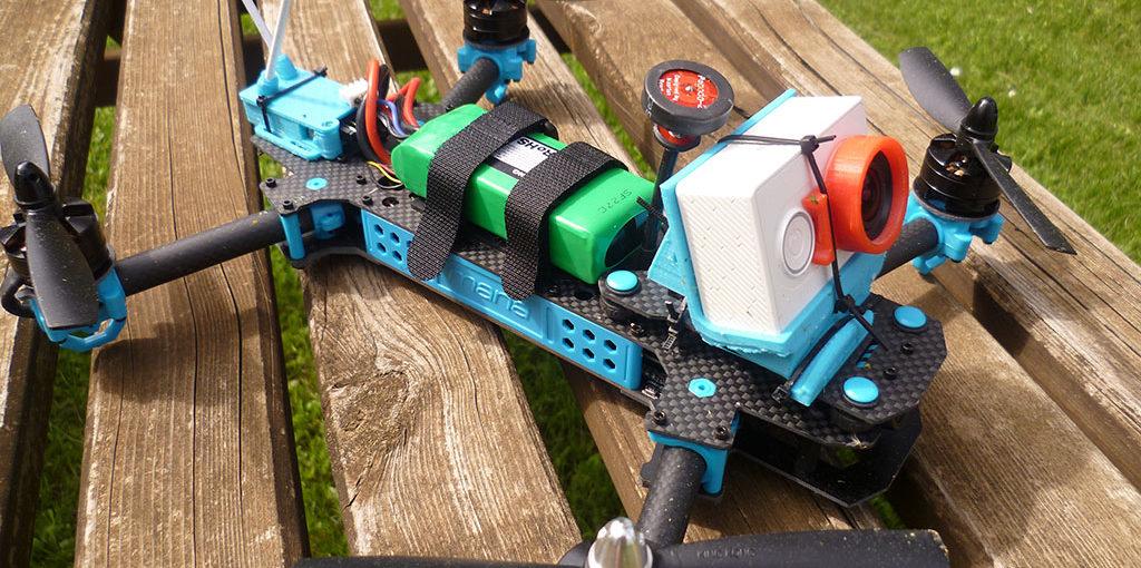 Mana 285 drone racer pliable : test