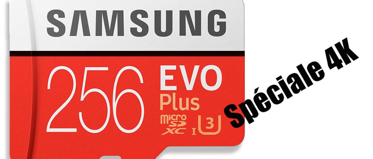 STOP AFFAIRE :Carte Micro SD 64/128 Giga spéciale 4K