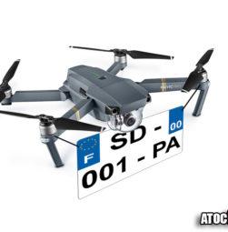 drone 800 grammes immatriculations obligatoire