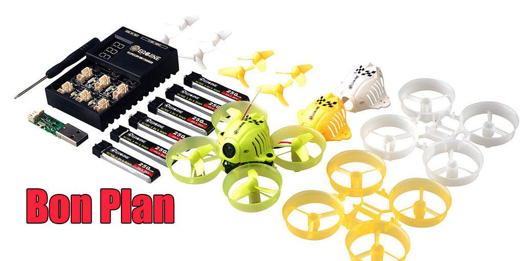 Stop affaire: Nano drone FPV QX65 à 35€