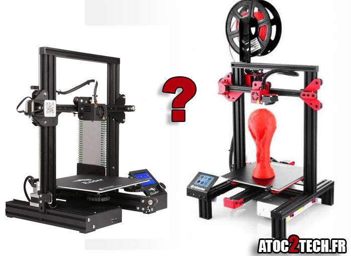 Quelle imprimante 3D à moins de 200 €?