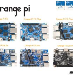 orange pi comparatif carte