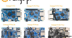 orange pi comparatif carte