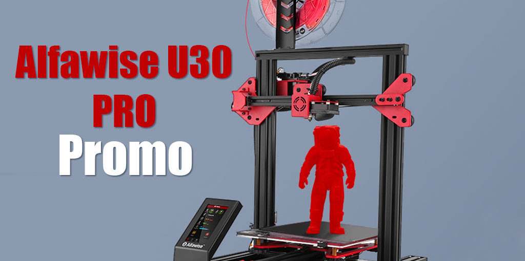 Imprimante 3D Alfawise U30 PRO en promo 🎁