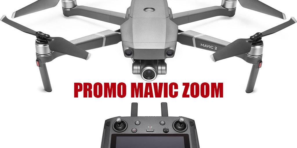 Bon plan: DJI Mavic 2 Zoom Drone à 1060 €